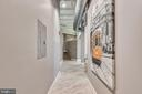Entry Hallway For Art & Photos - 1701 KALORAMA RD NW #314, WASHINGTON