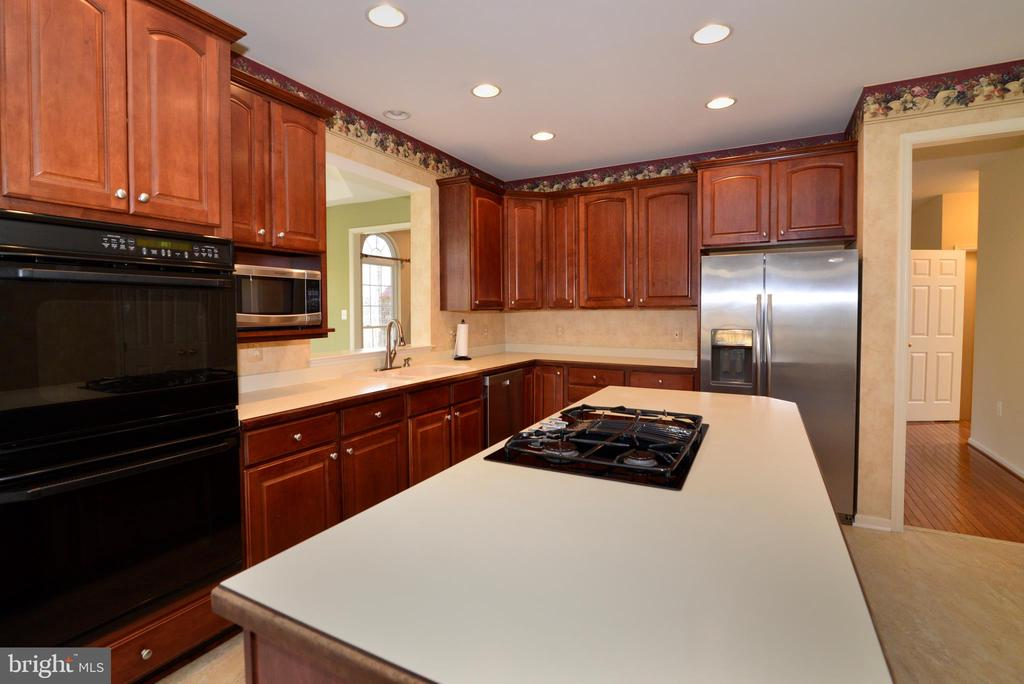 Double ovens, SS dishwasher and refrigerator - 1439 HARLE PL SW, LEESBURG