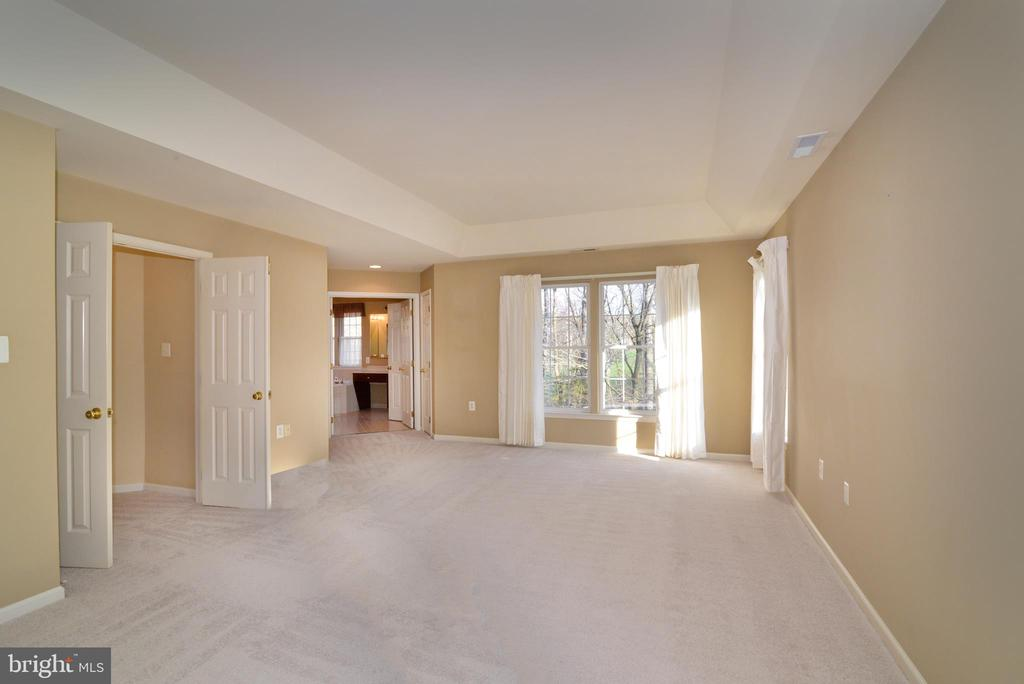 Lots of natural light in owners suite - 1439 HARLE PL SW, LEESBURG