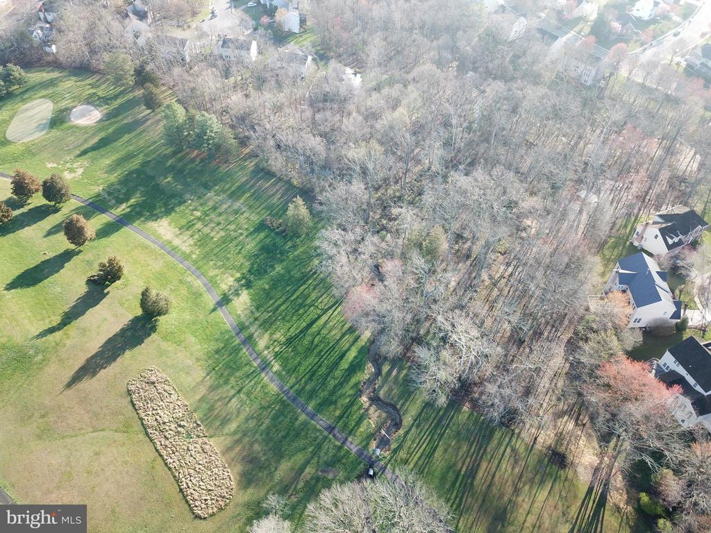 Aerial view of back of home - 1439 HARLE PL SW, LEESBURG