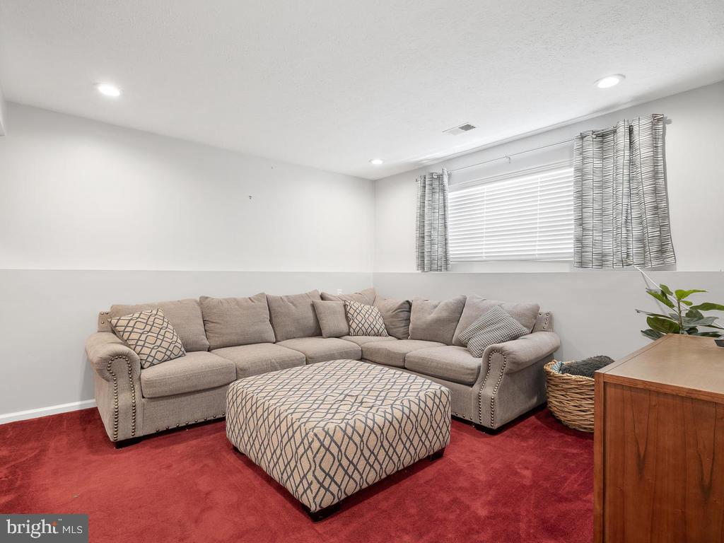 Lower level family room - 13348 JASPER CT, FAIRFAX