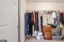 Master suite walk in closet 1 - 28 FIREBERRY BLVD, STAFFORD