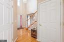 View from kitchen to foyer - 28 FIREBERRY BLVD, STAFFORD