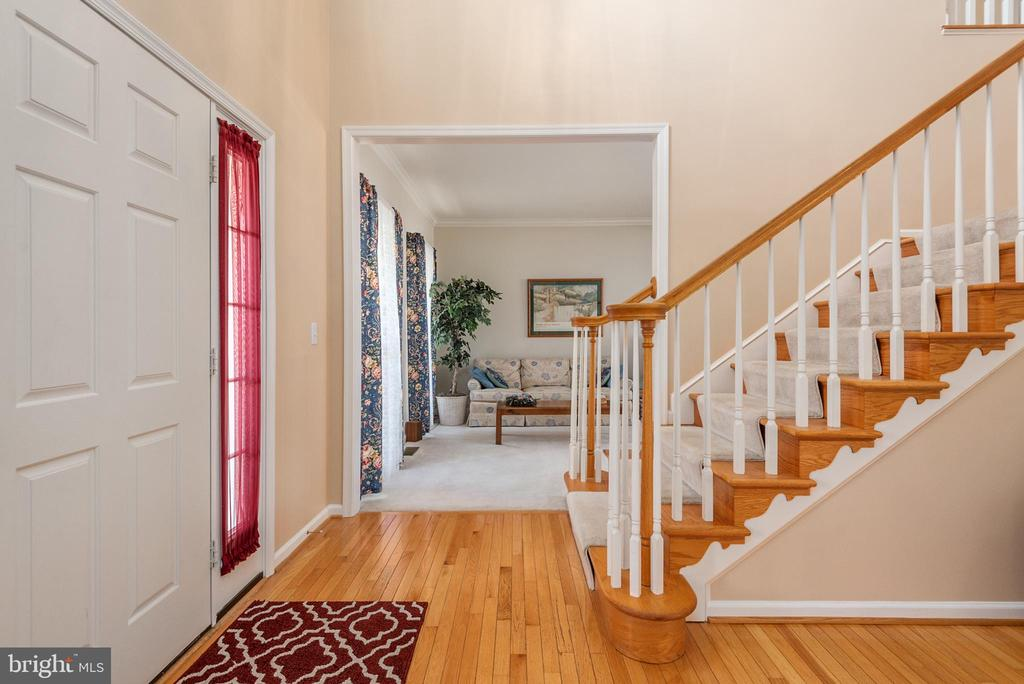 View to formal living room from foyer - 28 FIREBERRY BLVD, STAFFORD
