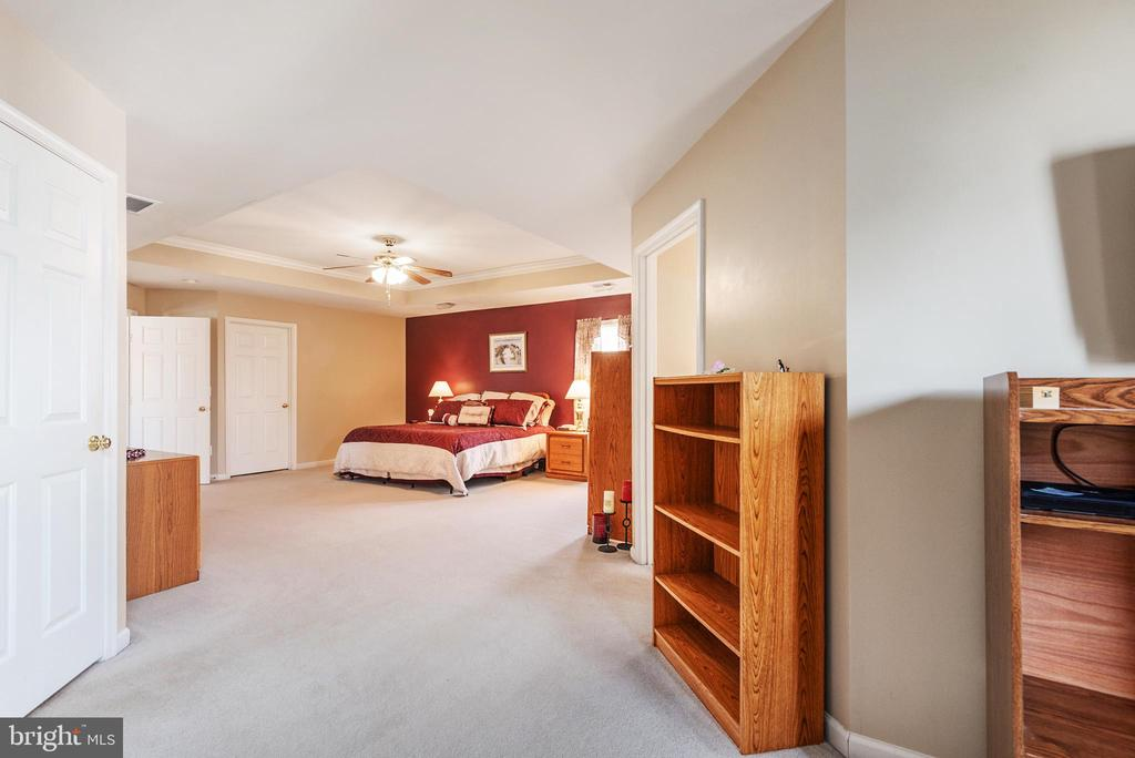View to master suite from sitting room - 28 FIREBERRY BLVD, STAFFORD
