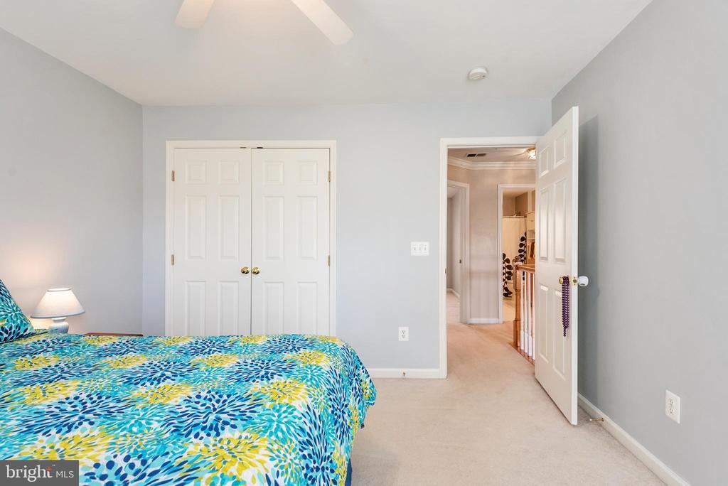 Bedroom #3 double closet - 28 FIREBERRY BLVD, STAFFORD