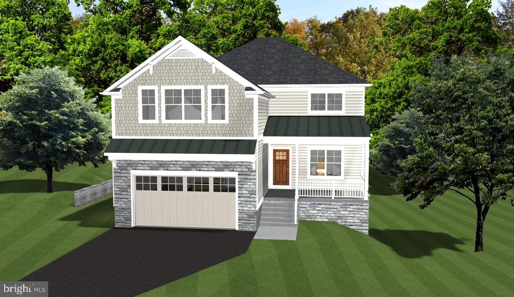 Rendering - 1849 WARE RD, FALLS CHURCH