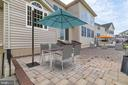 47' x 16' Brick Paver Patio - 4507 BRIDLE RIDGE RD, UPPER MARLBORO