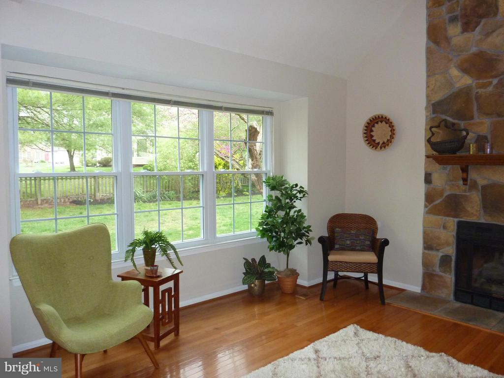 Large window with view of the lovely fenced yard - 13192 ROVER GLEN CT, HERNDON
