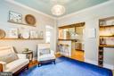 Family room/Den just off the kitchen! - 1104 PRINCE EDWARD ST, FREDERICKSBURG