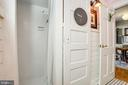 Renovated full bath w/functional enhancements - 1104 PRINCE EDWARD ST, FREDERICKSBURG