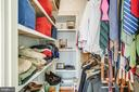Second walk in closet in Master BR - 1104 PRINCE EDWARD ST, FREDERICKSBURG