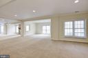 Walkout Lower Level Recreation Room - 1423 MAYHURST BLVD, MCLEAN