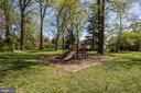 public park access back yard - 7627 LISLE AVE, FALLS CHURCH