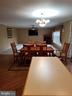 Open Kitchen, Dining and Family Room - 21 SLATE DR, FREDERICKSBURG
