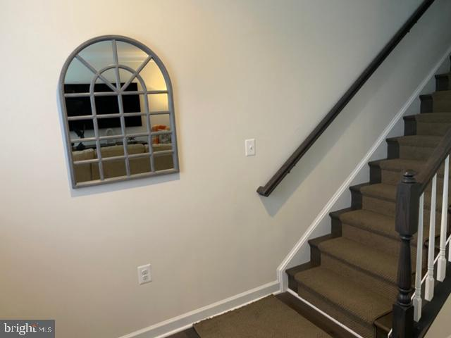 Stairway to First Level - 13919 VERNON ST, CHANTILLY