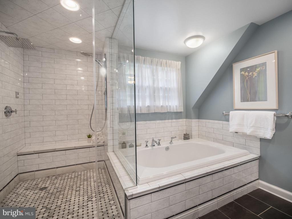 steam shower, soaking tub - 915 MCCENEY AVE, SILVER SPRING