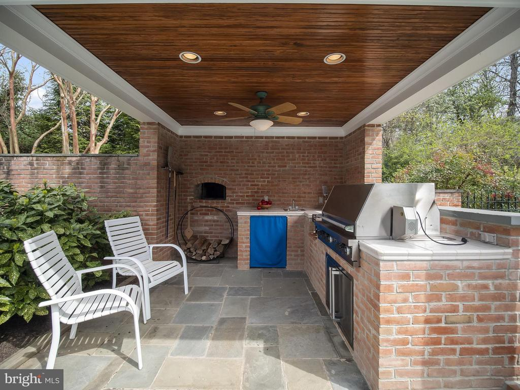 Viking gas grill, gas burner and Pizza Oven!! - 915 MCCENEY AVE, SILVER SPRING