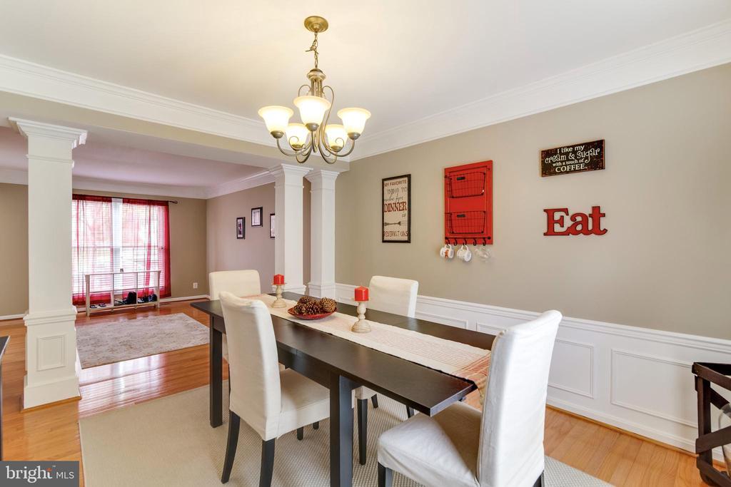 Dining Room - 3551 ESKEW CT, WOODBRIDGE