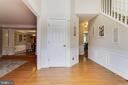 Foyer - 3551 ESKEW CT, WOODBRIDGE