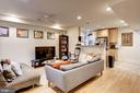 Apt B - Living & Dining Area - 1330 IRVING ST NW, WASHINGTON