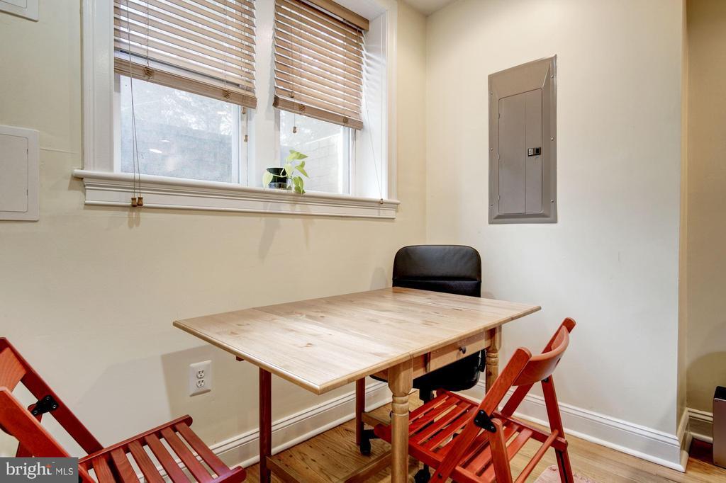 Apt B - Dining Area - 1330 IRVING ST NW, WASHINGTON