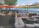 Clubhouse deck on the water. - 111 APPLEVIEW CT, LOCUST GROVE