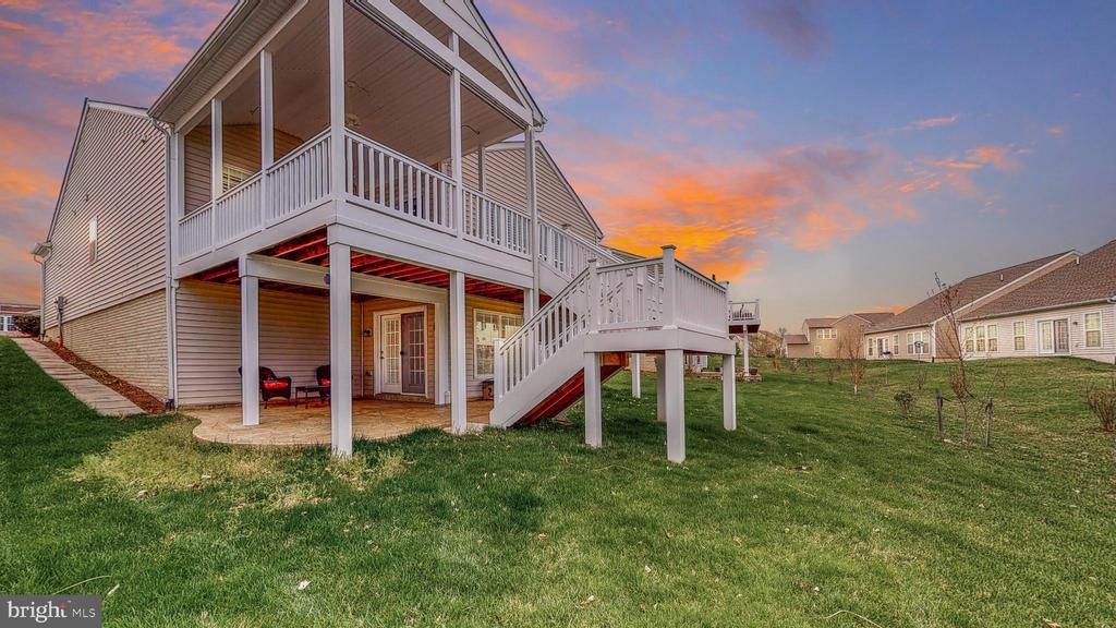Beautiful Sunrises from back porch/deck - 52 TABLE BLUFF DR, FREDERICKSBURG