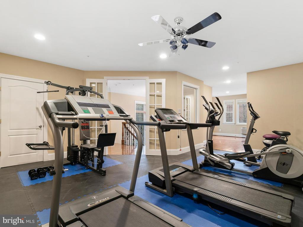 EXCERCISE ROOM - 10801 WINDCLOUD CT, OAKTON