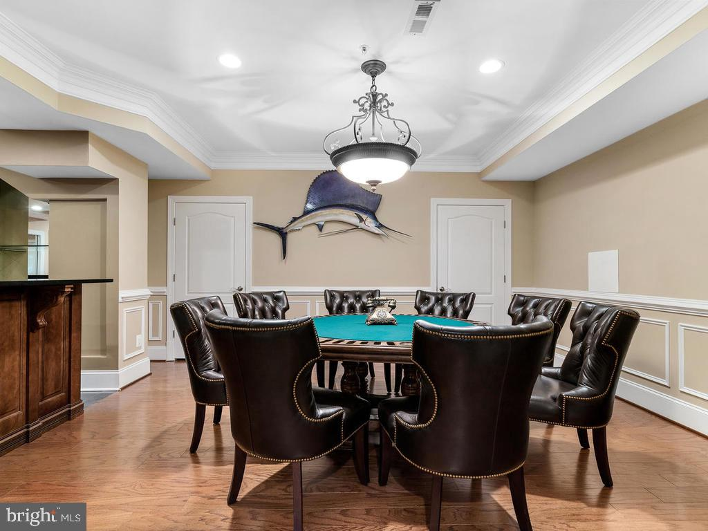 BASEMENT (POKER ROOM) - 10801 WINDCLOUD CT, OAKTON