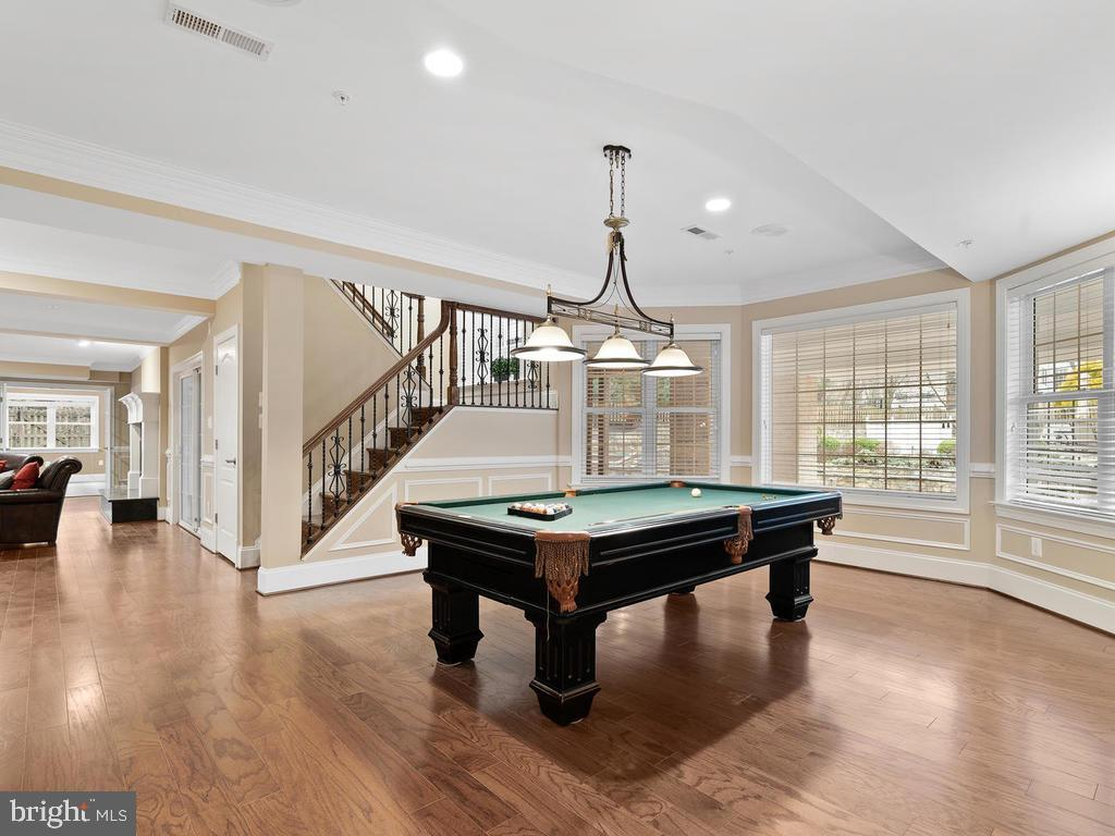 POOL TABLE ROOM - 10801 WINDCLOUD CT, OAKTON