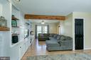 Family room/Living room Combo - 435 OAKRIDGE DR, STAFFORD