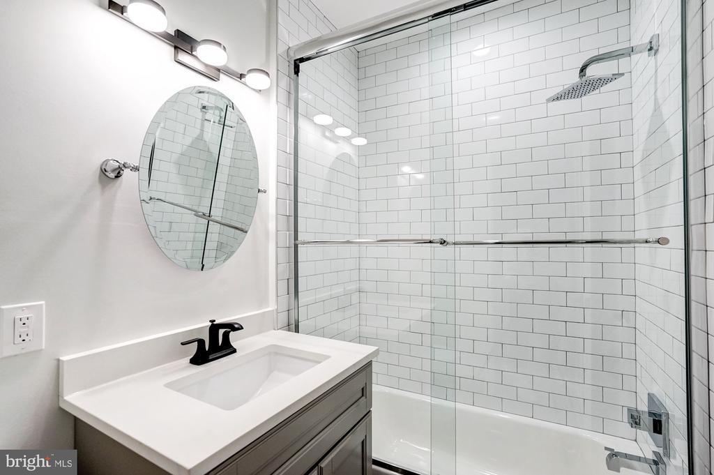Upper Level Hall Bath - 207 VARNUM ST NW, WASHINGTON
