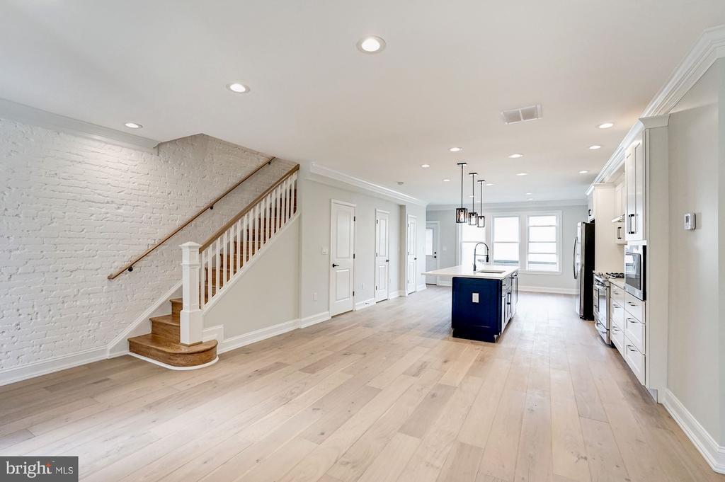 Inviting Living Room - 207 VARNUM ST NW, WASHINGTON