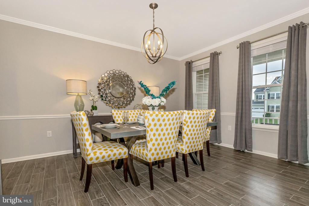 Dining Room shown with included chair rail - 307 NICHOLAS HALL ST, NEW MARKET