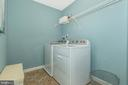 Second Floor Laundry Room- optional appliances - 307 NICHOLAS HALL ST, NEW MARKET