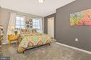 Secondary Bedroom 2 with Walk-In Closet - 307 NICHOLAS HALL ST, NEW MARKET