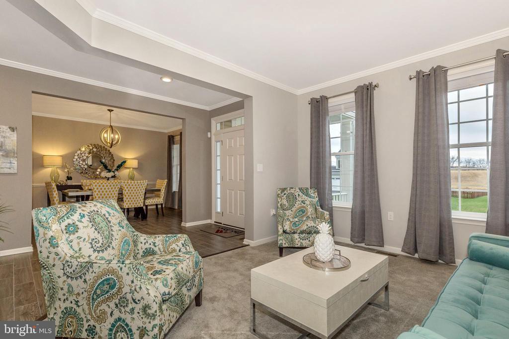 Living Room - 307 NICHOLAS HALL ST, NEW MARKET