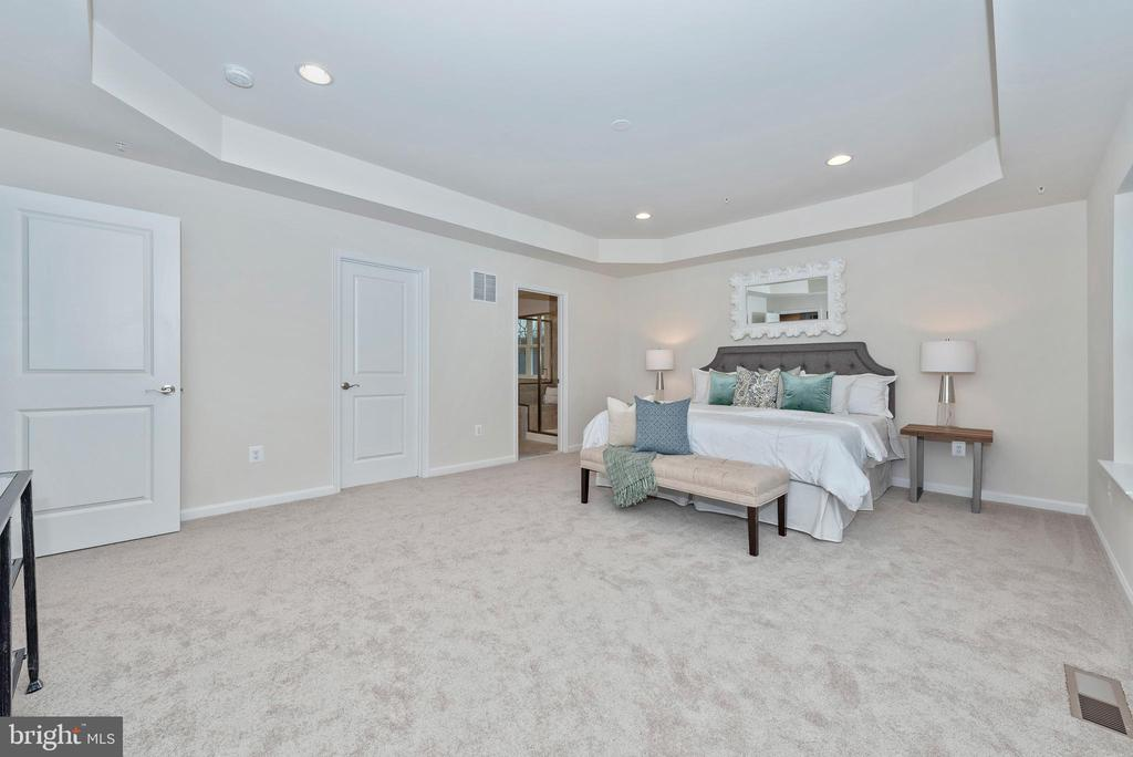 Master Bedroom with Dual Walk-In Closets - 505 ISAAC RUSSELL, NEW MARKET