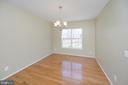 Dining Room - 10111 BROOKRUN CT, SPOTSYLVANIA