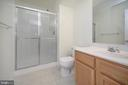 Full Bath lower level - 10111 BROOKRUN CT, SPOTSYLVANIA