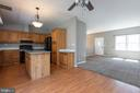 Open floor-plan - 7504 COVE POINT WAY, ELKRIDGE