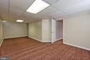 Awesome finished lower level recreation room - 7504 COVE POINT WAY, ELKRIDGE