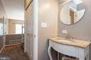 Main level powder room - 7504 COVE POINT WAY, ELKRIDGE