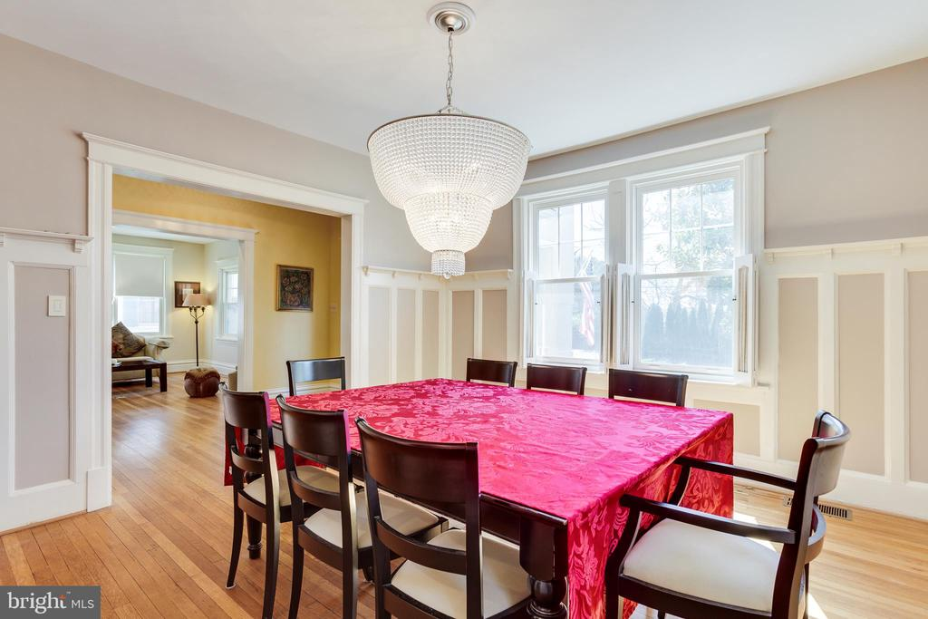 Dining Room - 4311 BRADLEY LN, CHEVY CHASE