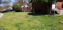 2nd side yard - 6100 ELMENDORF DR, SUITLAND