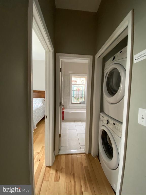 Washer/Dryer on 2nd level - 1946 3RD ST NW, WASHINGTON