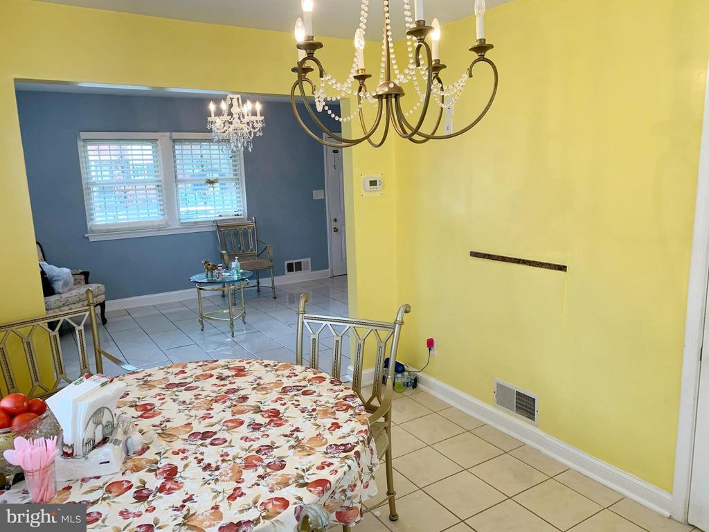 Dining room - 5009 37TH AVE, HYATTSVILLE