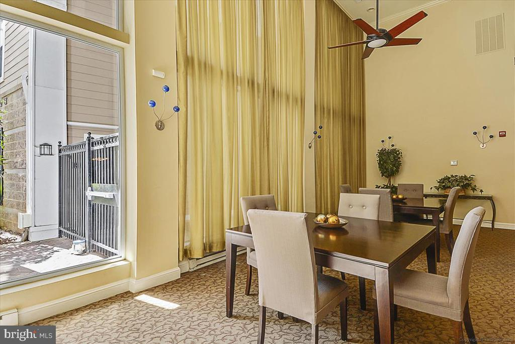 Club Room in Condo Complex - 501 HUNGERFORD DR #157, ROCKVILLE