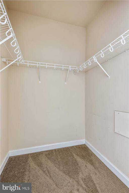 Walk in Closets in both bedrooms - 501 HUNGERFORD DR #157, ROCKVILLE